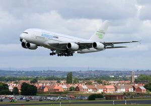 Airbus-A380-Lärm